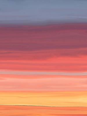 Digital Art - Layers by Florene Welebny