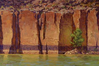 River Rafting Painting - Layers In Time by Cody DeLong