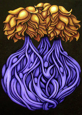 Tree Roots Painting - Layers Lxxvi by Diana Durr