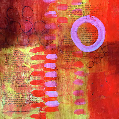 Painting - Layers No. 1 by Nancy Merkle