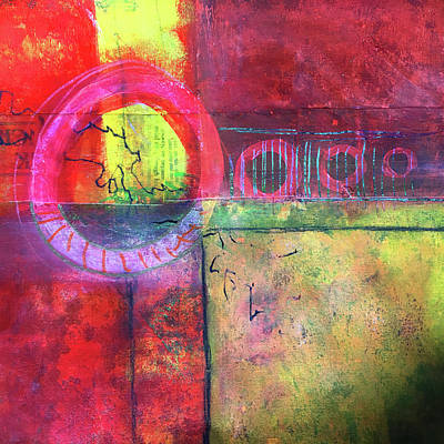 Painting - Layers No. 3 by Nancy Merkle