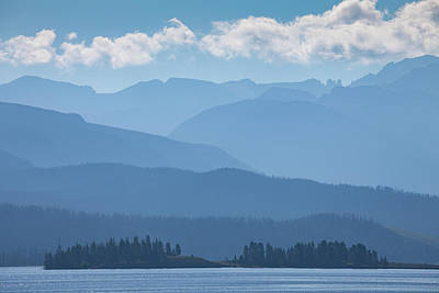 Photograph - Layers Of Blue by Darren White