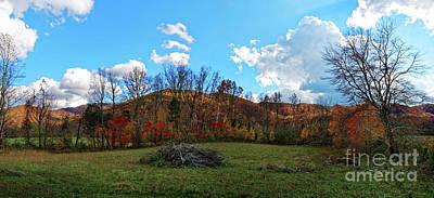 Photograph - Layers Of Fall by Paul Mashburn