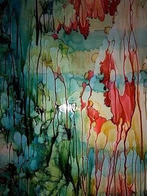 Layers Of Life Art Print