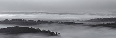 Photograph - Layers Of Mist Over Aberfoyle by Stephen Taylor