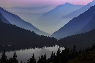 Layers Of Serenity Art Print by Mike Lang