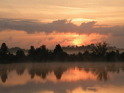 Photograph - Layers Of Sunrise Over Alligator Lake by rd Erickson