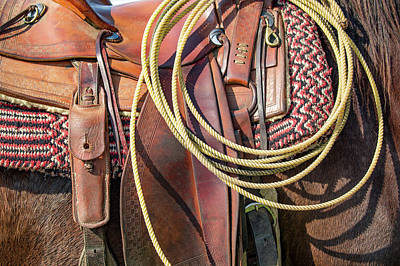 Tack Photograph - Layers Of Tack by Todd Klassy