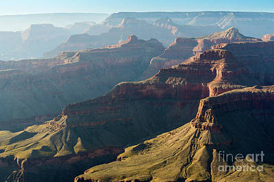 Layers Of The Canyon Art Print