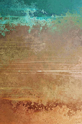 Painting - Layers Of Time - Abstract Art by Jaison Cianelli