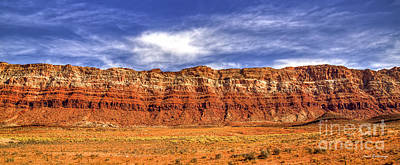 Photograph - Layers Of Time Arizona Layered Panorama Grand Canyon National Park Butte Art by Reid Callaway