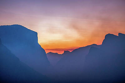 Photograph - Layers Of Yosemite by Davorin Mance