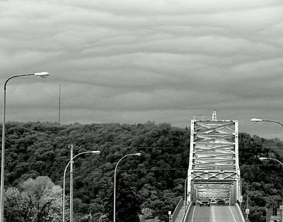 Photograph - Layers Over The Bridge by Wild Thing