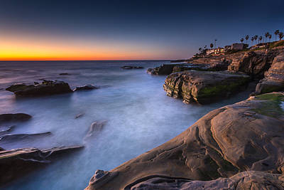 Rocky Coast Photograph - Layers by Peter Tellone