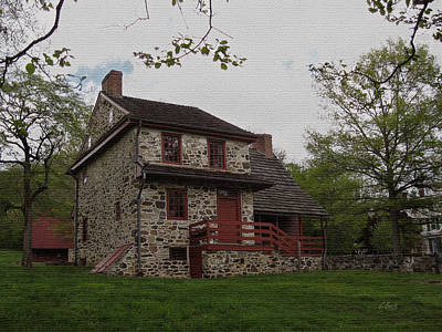 Colonial Architecture Photograph - Layfayette's Headquarters At Brandywine by Gordon Beck