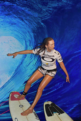 Photograph - Layne Beachley by Miroslava Jurcik