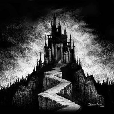Castle Drawing - Layr by Rebecca Magar
