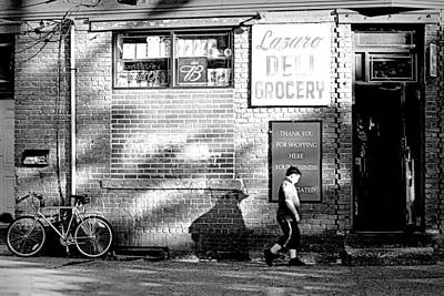 Port Chester Photograph - Lazaro Deli by Diana Angstadt