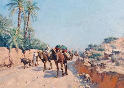 Painting - Lazerges 1901 by Munir Alawi