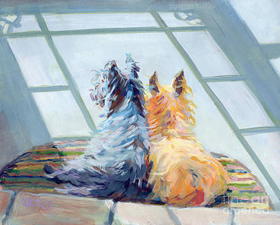 Cairn Terrier Painting - Lazin Around by Kimberly Santini