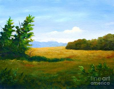 Painting - Lazy Afternoon by Jerry Walker