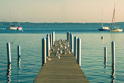 Photograph - Lazy Afternoon Pier by Todd Klassy