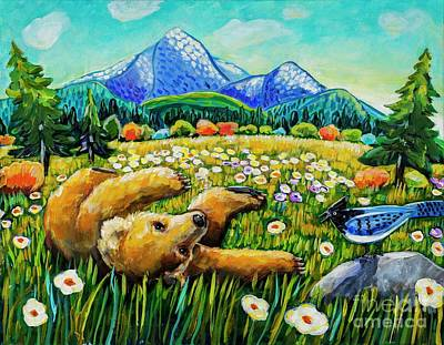 Painting - Lazy Bear by Harriet Peck Taylor