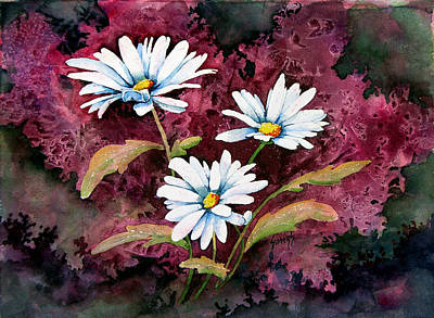 Painting - Lazy Daisies by Sam Sidders