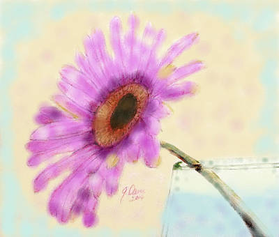 Painting - Lazy Daisy by Angela Davies