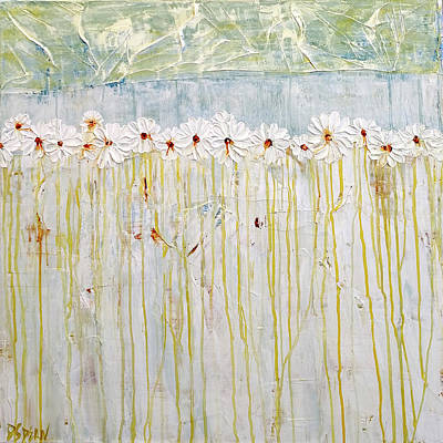 Painting - Lazy Daisy Days by Diane Dean