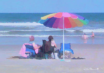 Photograph - Lazy Day At The Beach by Phil Mancuso