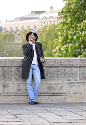 Mauverneen Blevins Photograph - Lazy Day In Paris by Mauverneen Blevins
