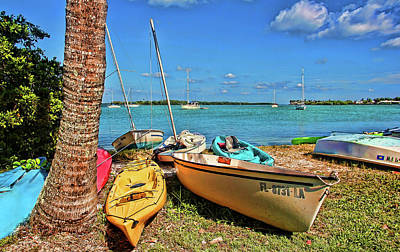 Sailboat Photograph - Lazy Days II by HH Photography of Florida