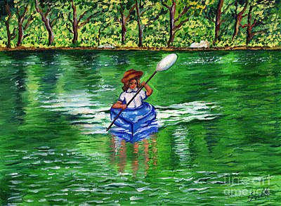 Lazy Days Of Summer Art Print by Sweta Prasad