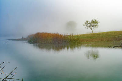 Photograph - Lazy Fog by Erich Grant