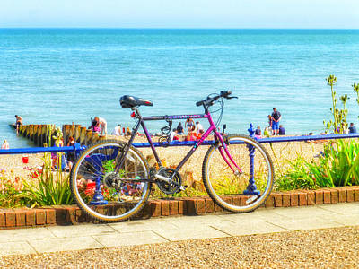 Eastbourne Photograph - Lazy Hazy Days Of Summer by Connie Handscomb