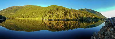 Photograph - Lazy Lake Panorama by Thomas Nay