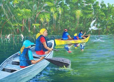 Lazy River Art Print by Dennis Vebert