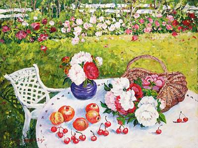 Painting - Lazy Summer Afternoon. by Ingrid Dohm