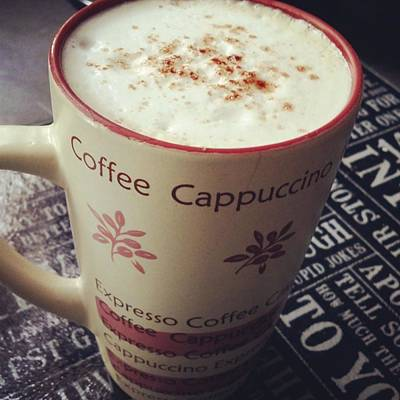 Photograph - #lazy #sunday Morning #coffee :) #heaven by Jaynie Lea