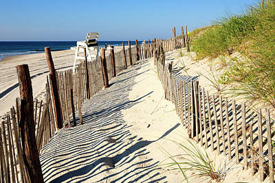 The Haven Photograph - Lbi Dunes by John Rizzuto