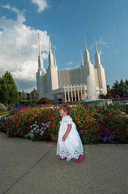 Photograph - Lds Flower Strolll by Brian Green