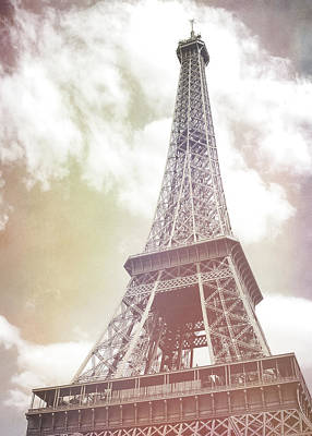 Photograph - Le 85 Tour Eiffel Watercolor by JAMART Photography