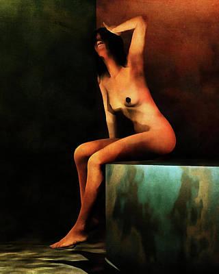 Painting - Le Bain Du Matin by Jan Keteleer