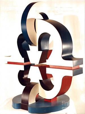 Sculpture - Le Baiser by Robert F Battles