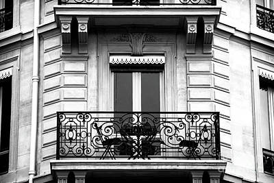 Photograph - Le Balcon A Paris by John Rizzuto