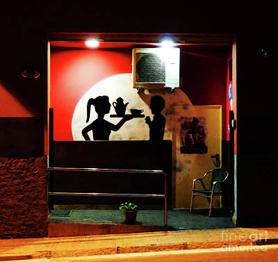 Photograph - Le Bar by Don Pedro De Gracia
