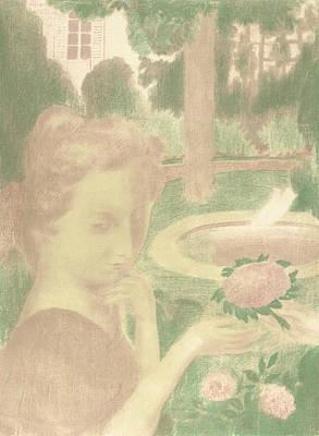 Relief - Le Bouquet Matinal, Les Larmes by Maurice Denis