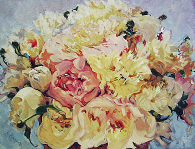 Painting - Le Bouquet Printanier by Lynn Gimby-Bougerol