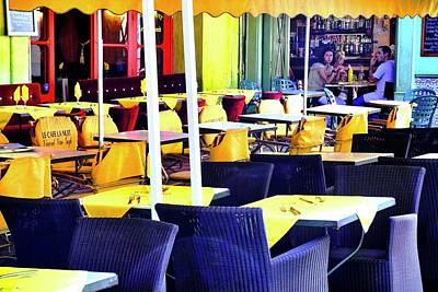 Photograph - le Cafe la Nuit in Arles by Kirsten Giving